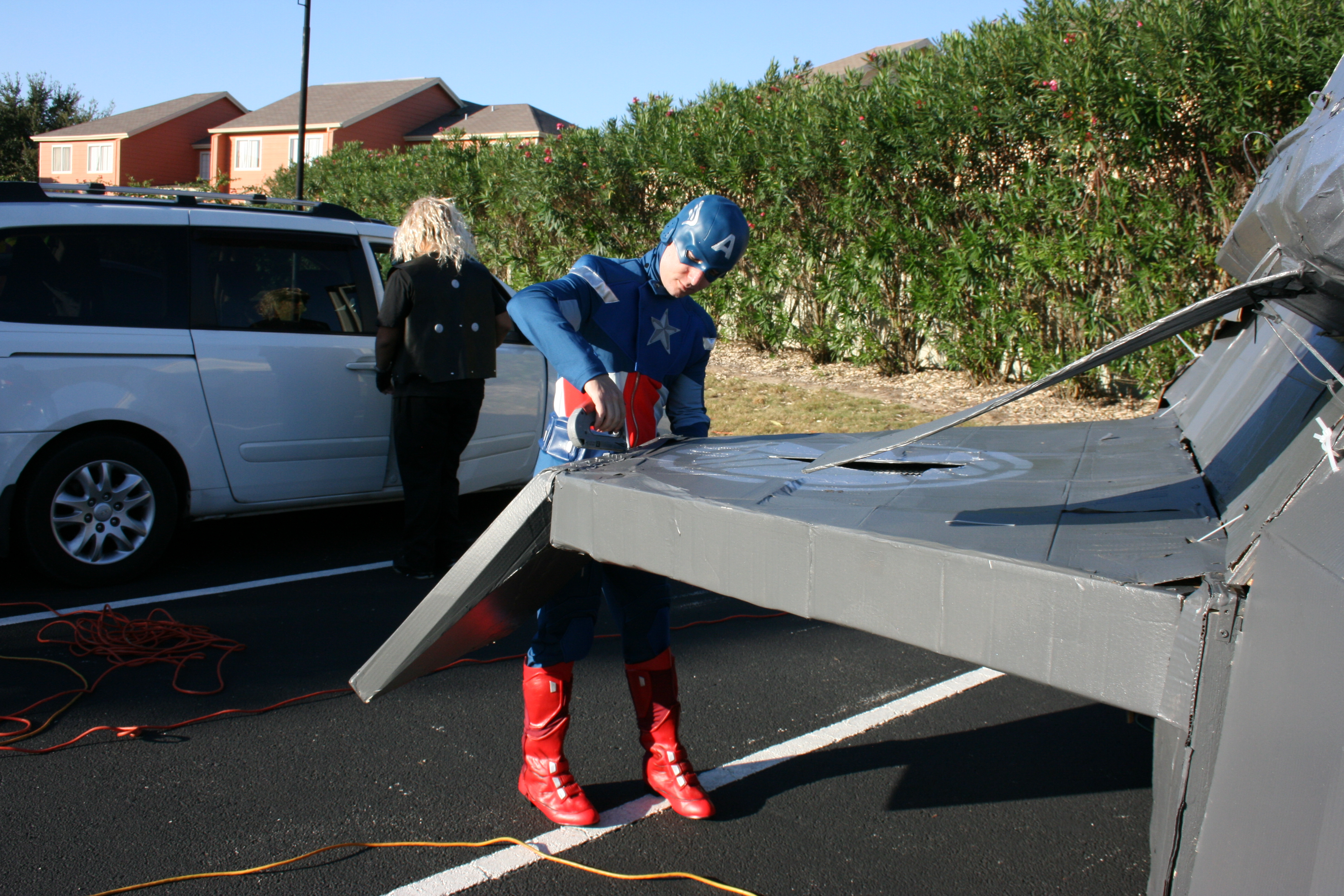 quinjet wing repair  u2013 constantly crafting
